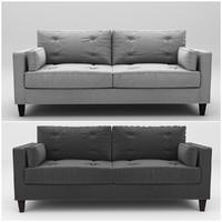 3d model sam sofa
