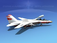3d model grumman tomcat f-14d