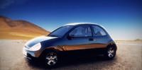 ka wheel car 3d model