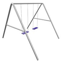 swing park garden quads 3d model