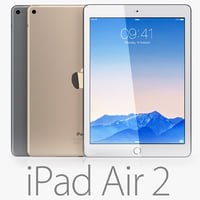 3d model of ipad air 2