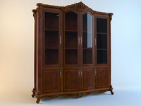 3d model classic cabinet carpenter