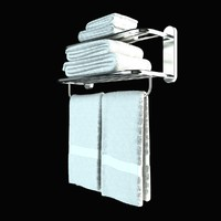 3d model towel rail