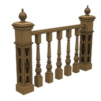 3d solidworks baluster