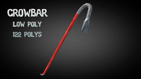 3d crowbar crow bar