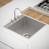 kitchen sink tap 3d obj