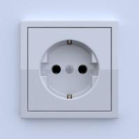 plug socket 3d obj