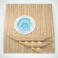 3d whirpool wooden base