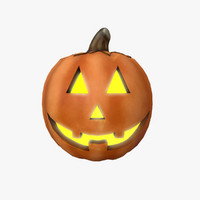 halloween pumpkin 3d 3ds