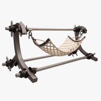 hammock 3d max