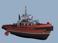 tug boat 3ds