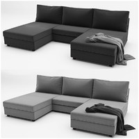 kivik 4 ikea sofa 3d max