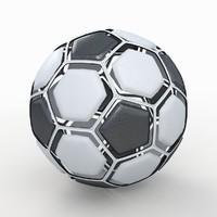 Soccerball dissasembled