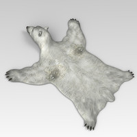bear skin polar 3d max