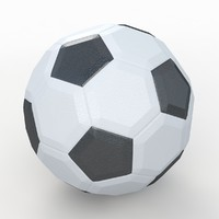 Soccerball LowPoly