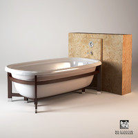 kohler bath 3d model