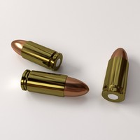 ammunition 9mm parabellum 3d 3ds