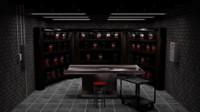 interior basement scene blend