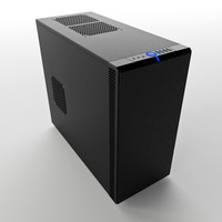 3d model pc case fractal design