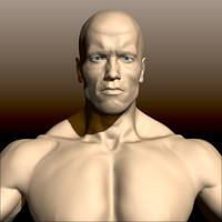 arnold schwarzenegger body 3ds