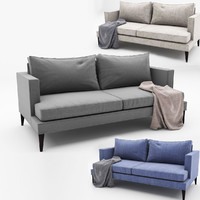 3d spencer sofa model