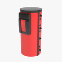 oil heater 3D models