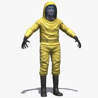 hazard suit materials max