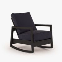 3d model ikea lillberg chair