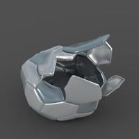 3dsmax soccer ball