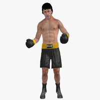 3ds max rocky rigged
