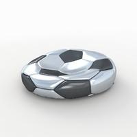 soccer ball 3d max