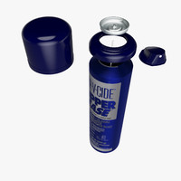 maya spray aluminium blue