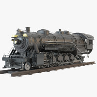 3ds steam locomotive