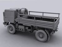 3d model of m1078 lmtv truck