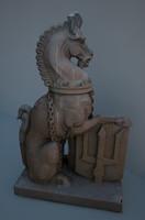 fbx statue horse chess