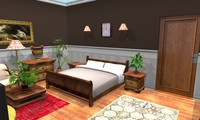 3d object clasic room