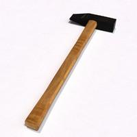 masonry hammer 3d model