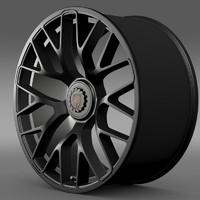 porsche gts 2015 3d model