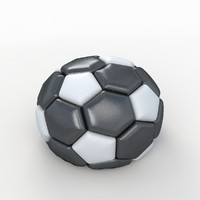 3ds soccer ball