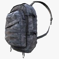 3d marine pack model