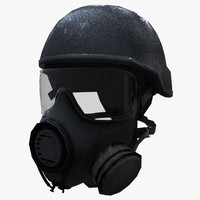 3d model counter mask