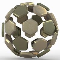 soccer ball dxf