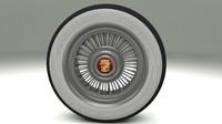 cadillac wheel obj