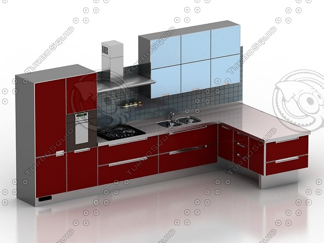 Building rfa kitchen casework revit for Cuisine 3d autocad