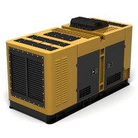 generator power machine 3d obj