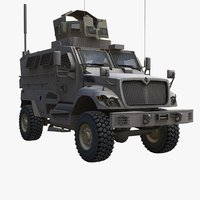 3ds maxxpro army mrap