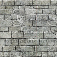 Hand Painted Stone Brick Wall VB1.0