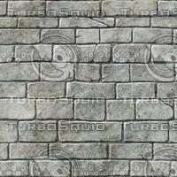Hand Painted Stone Brick Wall VB1.0