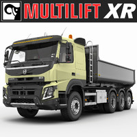 Volvo FMX 2014 MULTILIFT