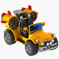 Cartoon Turbo Jeep